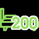 Матрасы 200x200